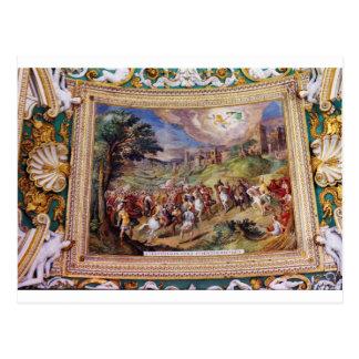 Mural in the Vatican Museum Post Card