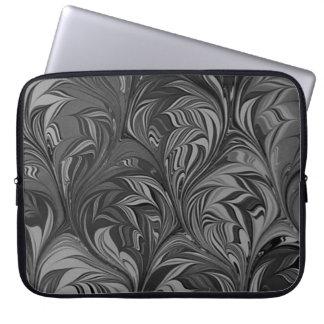 """""""Murano bianco e nero"""" Laptop Sleeve"""