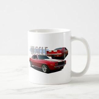 Muscle car coffee mug