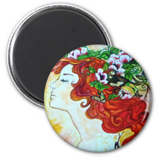 Muse By Chelsea Spring 6 Cm Round Magnet