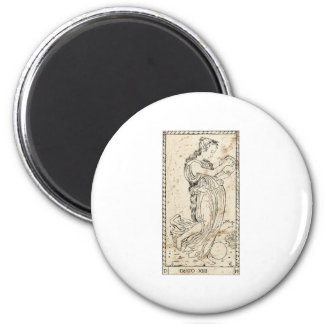 MUSE Erato love poetry love poetry 6 Cm Round Magnet