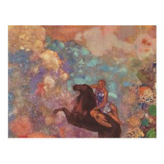 Muse On Pegasus Postcard