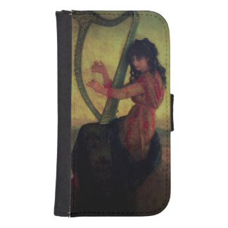 Muse Playing the Harp Samsung S4 Wallet Case