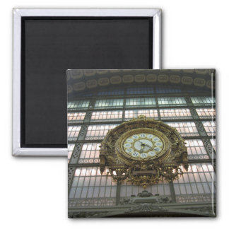 Musee d Orsay clock Magnets