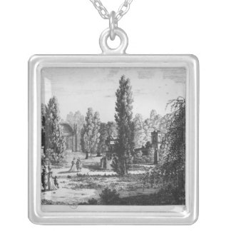 Musee des Monuments Francais, Paris Silver Plated Necklace