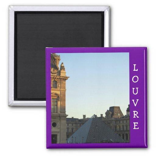 Musee du Louvre Fridge Magnets