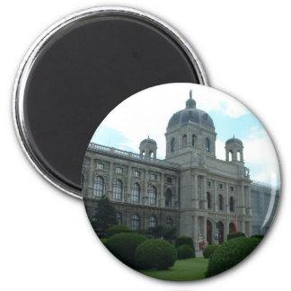 Museum 6 Cm Round Magnet