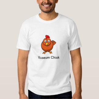Museum Chick T Tee Shirts