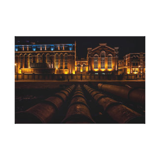 Museum of Electricity Canvas Print