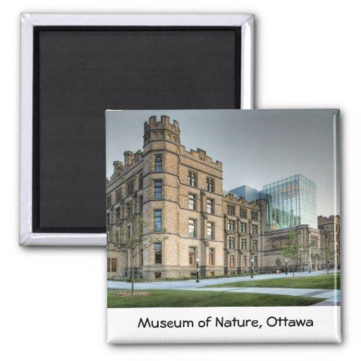 Museum of Nature, Ottawa. Fridge Magnets
