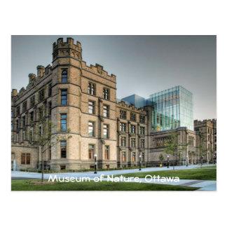 Museum of Nature Ottawa Postcard