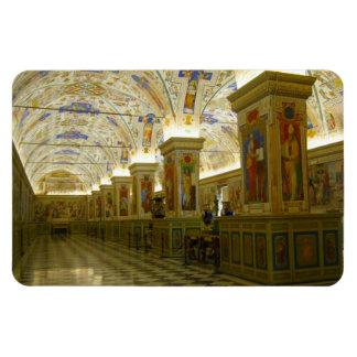 museum vatican rectangular photo magnet