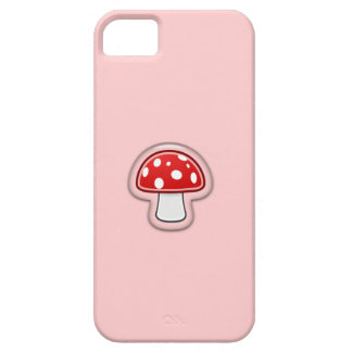 Mushroom Barely There iPhone 5 Case