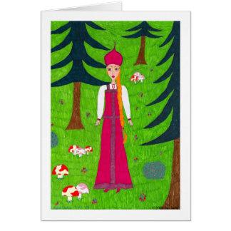 Mushroom Forest Card