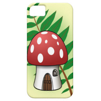 Mushroom House iPhone 5 Cover