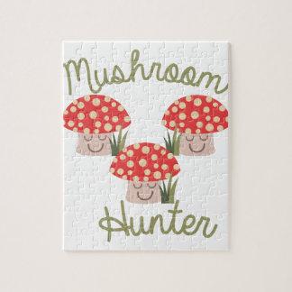 Mushroom Hunter Jigsaw Puzzle