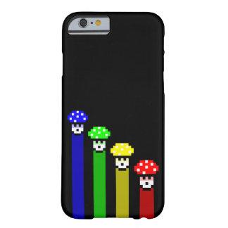 Mushroom Rainbow Barely There iPhone 6 Case