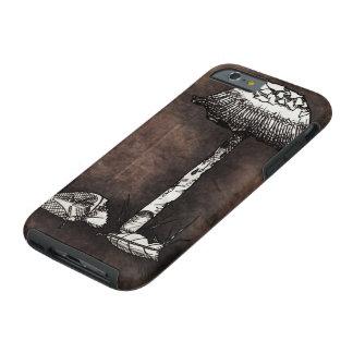 Mushroom Sketch Tough iPhone 6 Case
