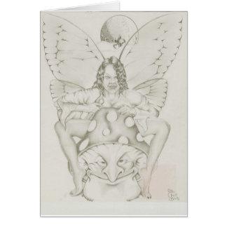 Mushroon Fairy Card