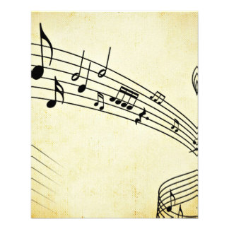 Music 11.5 Cm X 14 Cm Flyer