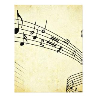 Music 21.5 Cm X 28 Cm Flyer