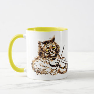 Music and Cats Quotation Mug