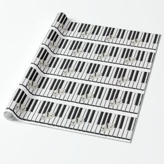 Music Business Theme Wrapping Paper