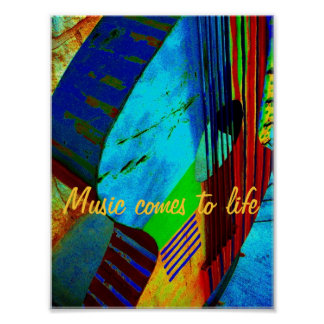 Music comes to life poster