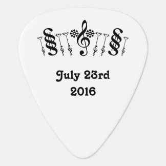 Music Crown for the Best Man Guitar Pick