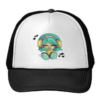Music cutie trucker hat