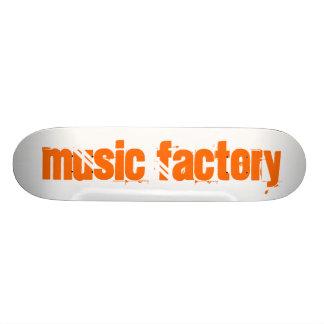 Music Factory 21.6 Cm Old School Skateboard Deck
