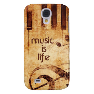 Music is Life Galaxy S4 Case