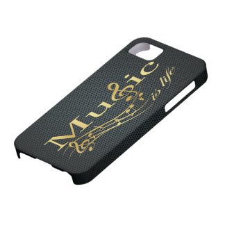 Music is Life iPhone 5 Case