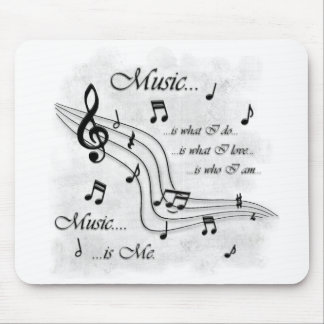 Music Is Me Mouse Pad