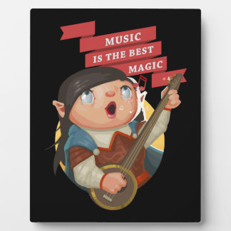 Music Is The Best Magic Plaque