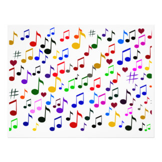 Music Love_Flyer 21.5 Cm X 28 Cm Flyer