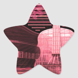 Music Love Inspiration Star Sticker