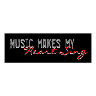 Music Makes My Heart Sing Poster