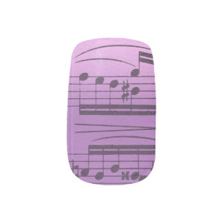Music Manicure Nail Sticker