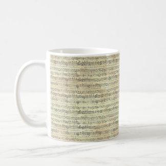 music note Pattern Music piano Theme Mug
