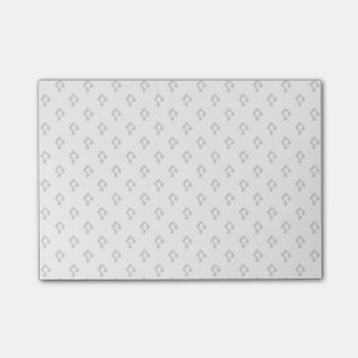 Music Note Pattern Post-it Notes