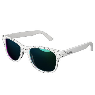 Music Notes Pattern Sunglasses