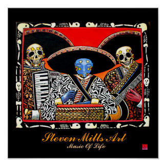 Music Of Life Poster