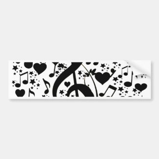 Music of the heart_ bumper sticker
