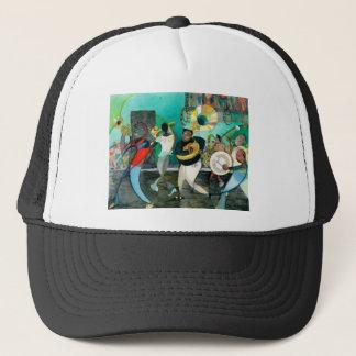 "Music Painting ""New Orleans Jazz"" Trucker Hat"