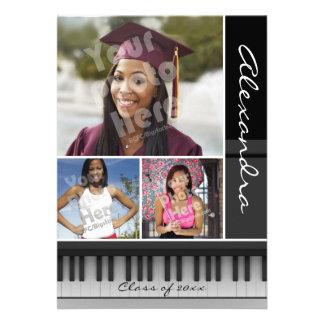 Music Piano Keys, Photo Graduation Cards