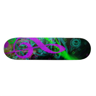 Music Rider Skate Board Deck