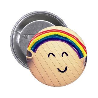 Music Smiles 6 Cm Round Badge