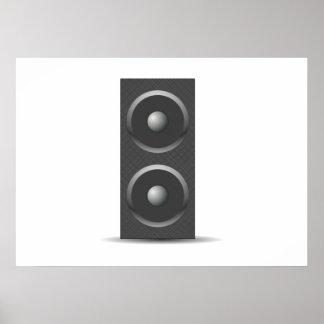 Music Speaker Poster