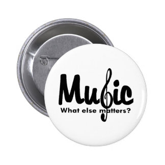 Music T-shirts and Gifts Pinback Button